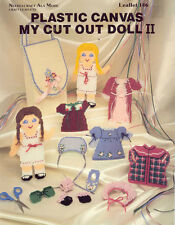 My Cut-Out Doll II ~  Plastic Canvas Leaflet
