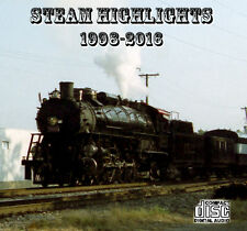Train Sounds On CD: Steam Highlights - 1998-2016 - 1522, 4501, 611, 3985 + more