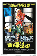 "House of whipcord Exploitation Movie Poster Replica 13x19"" Photo Print"