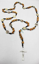 The Stations of the Cross Rosary made of Olive Wood Medjugorje Handmade 23 Inc