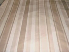 LAURA ASHLEY AWNING STRIPE TRUFFLE FABRIC 2.35 METRES