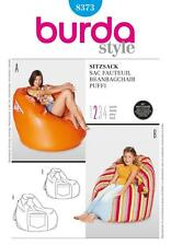BURDA SEWING PATTERN BEANBAG CHAIR 2 SIZES  8373 SALE