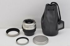 CONTAX Carl Zeiss Biogon T* 28mm F2.8  AF Lens G1 G2 w/ Hood Filter #170309f