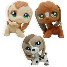 3PCS Littlest Pet Shop Beagle Dog Puppy #1164 #2207 # #1738 LPS TOY