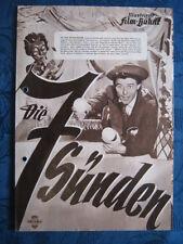 Filmprogramm IFB 2326  Die 7 Sünden / Les sept péchés capitaux  G.Philipe