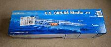 Trumpeter U.S.S. Nimitz CVN68 1:350 Scale Plastic Model Boat Kit 05605