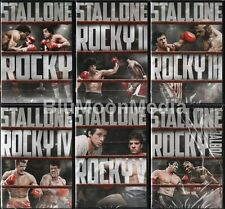 Rocky DVD Collection 1 2 3 4 5 6 Balboa Sylvester Stallone 6 Movie Lot Set NEW
