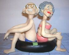 EFY RESIN TUBING COUPLE SHELF SITTER FIGURINE