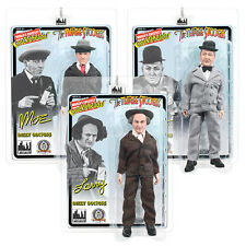 The Three Stooges Mego Style 8 Inch Action Figures Dizzy Doctors Set of 3