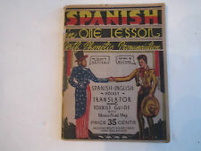 1937 SPANISH IN ONE LESSON WITH PHONETIC PRONUNCIATION MANUAL  -BB-3B