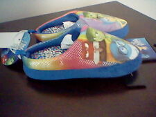 BRAND NEW GIRL'S SIZE 9-10 DISNEY INSIDE OUT MOVIE SCUFF SLIPPERS