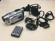 JVC GR-DVL150 CAMCORDER MINI DV DIGITAL VIDEO CAMERA MINIDV TAPE DVL150E