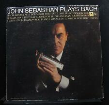 John Sebastian, Paul Ulanowsky - Plays Bach LP ML 5264 1st 6i Mono Vinyl Record