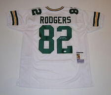 PACKERS Richard Rodgers signed white custom jersey #82 JSA COA AUTO Autographed