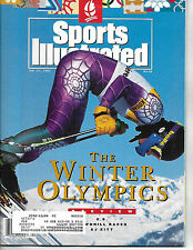 SPORTS ILLUSTRATED - FEATURES THE WINTER OLYMPICS FROM JANUARY 27, 1992