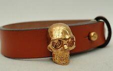 Alexander Mcqueen Skull Charms Bracelet - Boxed