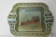 Vintage Irish Porcelain Wade Dish Armagh Pottery Horses Shamrocks Ashtray