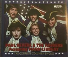 Paul Revere & Raiders Mark Lindsay Complete Columbia Singles 3-CDs AUTOGRAPHED