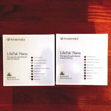 Nu Skin Lifepak Nano 2 Packs,120 packets,2 month supplement, Exp 10/18