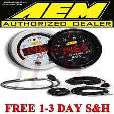 "AEM 30-0300 X-Series Wideband Gauge AFR O2 UEGO Air Fuel Ratio 2 1/16"" NEW MODEL"