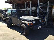 1997-2002 JEEP WRANGLER TJ BARE TUB WITH ROLL BAR / CAGE OEM BODY FLOOR FRAME