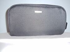 NEW Giorgio Armani Gray Deluxe Grooming Bag Toiletry Travel