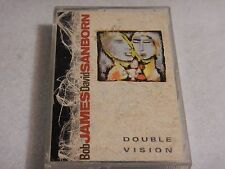 Bob James & David Sanborn : Double Vision - Cassette Tape 1986 - WB Records