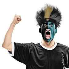 Jacksonville Jaguars Fuzz Head Wig NFL Football Sports Adult Costume Accessory