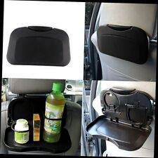 NEW Folding Auto Car Back Seat Table Drink Food Cup Tray Holder Stand Desk MG