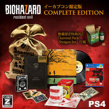 NEW!! PS4 Biohazard 7 Resident Evil e-capcom COMPLETE Edition CERO Z type Japan