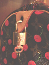 LOUIS VUITTON LOCK+KEY #302 FOR LV DUFFEL SPEEDY+KEEPALL+ALMA+TRAVEL BAG
