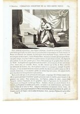 """1825 """"L'Immaculée Conception de la Très Sainte Vierge"""" Immacolata Concezione"""