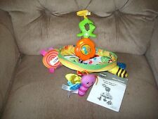 Vtech Garden Bugs 2-in-1 Magic Mobile Clip On Take Along Lights Music Bugs Euc