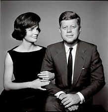 JOHN F KENNEDY AND JACQUELINE 8X10 GLOSSY PHOTO PICTURE