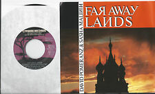 DAVID POMERANZ & SASHA MALININ * 45 * Far Away Lands * 1987 * DJ PROMO * MINT PS