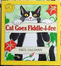 Cat Goes Fiddle-I-Fee by Paul Galdone c1985, NEW PAPERBACK We Combine Shipping
