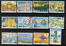 Malta Mnh 1991 sg905-916 Patrimonio Nacional Set De 12