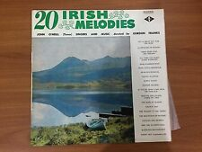 Vinyl LP - 20 Irish Melodies with John O'Neill (tenor)