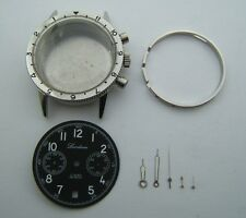 S.STEEL CASE TYPE 20 DIAL LANDERON AND HANDS FOR VALJOUX 7734 DIAMETER 38MM