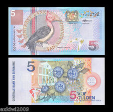 Suriname 5 Gulden 2000 P-146 Mint UNC Uncirculated Banknotes