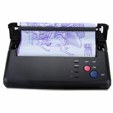 Pro Black Tattoo Transfer Copier Printer Machine Thermal Stencil Paper Maker US!