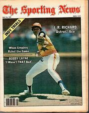 Sporting News 5/26/1979, Baseball magazine, J.R, Richard, Houston Astros