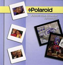 Polaroid Win Software needed for all Palette & Pro Palette/ProPalette