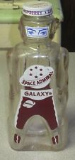 Vintage Galaxy Space Admiral Raspberry Syrup Figural Bottle Coin Bank Sci Fi Man