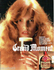 PUBLICITE ADVERTISING  046  1988  Grand Marnier    liqueur Marnissimo