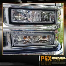 1988-1998 Chevy Silverado Suburban Tahoe Sierra Chrome Headlights + Signal Light
