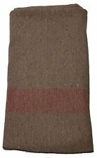 Military Outdoor Clothing New Swiss Tan Army Style Wool Blanket