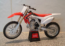 1:12 14 HONDA CRF450 450 CRF CR-F MOTOCROSS ENDURO MODELLO SUPERB SUPERMOTO HRC