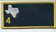 Navy 4th airwing patch 2 X 4 inches W/O navy seal.