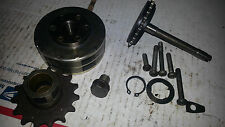 1970 Honda CT90 CT 90 Parts Lot Flywheel Fly Wheel Oil Drain Bolt Gear